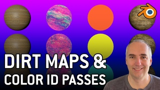 6 - Dirt maps and color ID passes in Blender