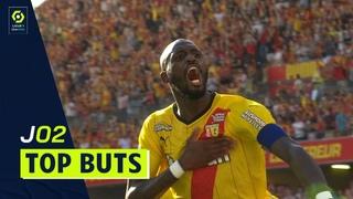 Top buts 2ème journée - Ligue 1 Uber Eats / 2021-2022
