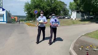 В Кемерове сотрудники ГИБДД помогли семейной паре экстренно добраться до родильного дома