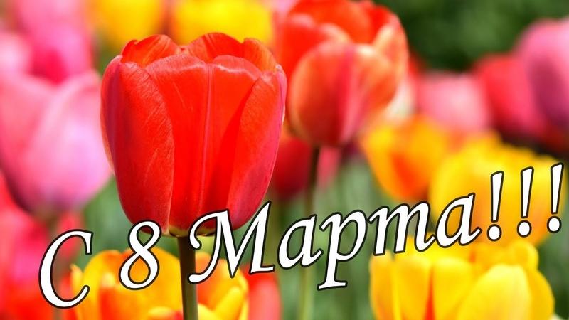 🌼🌸ДУШЕВНАЯ КРАСИВАЯ ПЕСНЯ НА 8 МАРТА 🌺🌹Супер Поздравление 8 Марта 🌷🌻С Международным Женским Днем 🌹🌹🌹