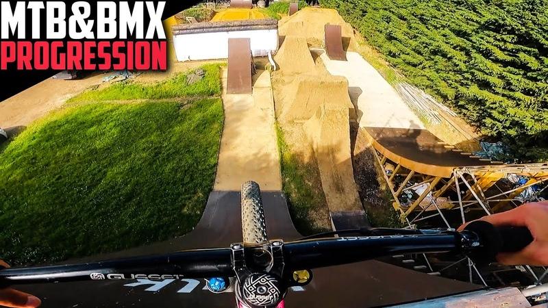 THE BEST SLOPESTYLE COMPOUND MTB BMX PROGRESSION