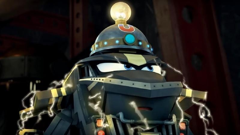 Роботы поезда сезон 2 Мудрый Гарри трансформеры премьера