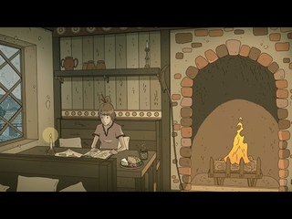 Cozy Tavern on a Rainy Day 🌧️ - Ambience for Writing, Study, Relax