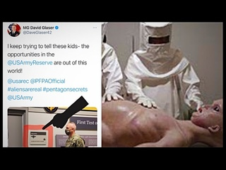 ARMY MAJOR GENERAL declares ALIENS ARE REAL in front of ALIEN AUTOPSY ROOM! Seriously?! smh #2021