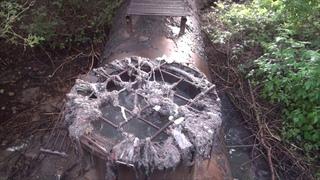 Выбросы очистных в реку Оскол
