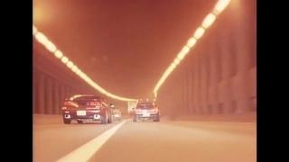 Japanese retro street racing, drifting