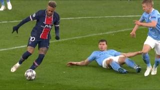 Зинченко против Неймара / Zinchenko vs. Neymar JR - Man City vs. PSG - Champions League