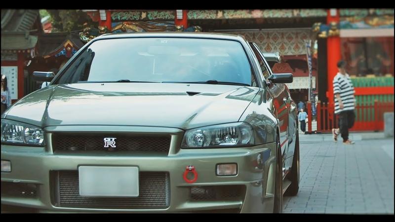 Tokyo Midnight Run R34 GTR 4K