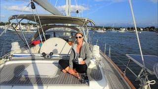 ep38 - Sailing Newport - Sailing Rhode Island - Hallberg-Rassy 54 Cloudy Bay - Sep 2018