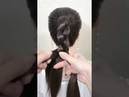 Simple and elegant hairstyle for Eid,