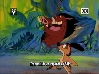 Timon & Pumbaa intro