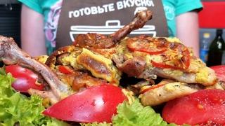 Так БЁДРА вы ещё не готовили/ Отбивные на косточке/ Pechdagi mazali tovuq.
