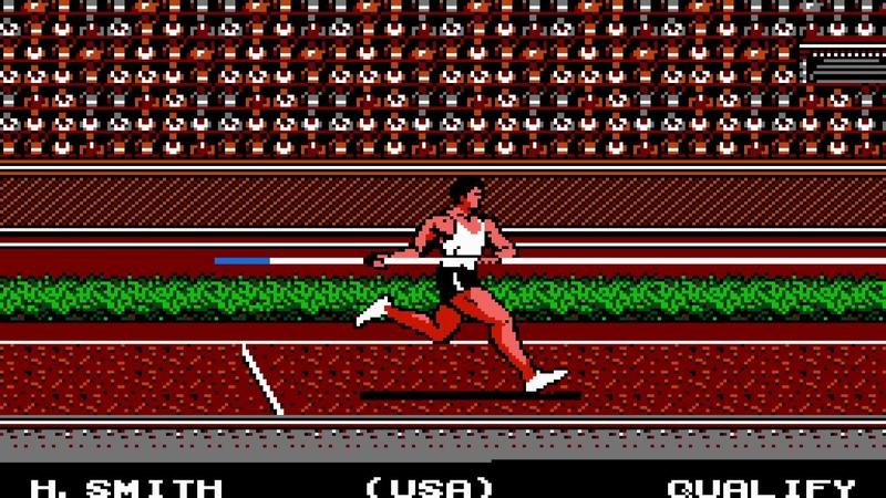 TAS NES Track Field II by DrD2k9 link 7777 in 26 18 47