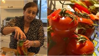 Соленья по-грузински от Этери - Пикантная ЗАКУСКА из Летних овощей - Влюблённый Дедушка