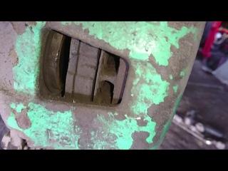 Минимальная толщина передних тормозных дисков. Жесть на СТО