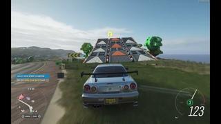 Forza Horizon 4 Paul Walker Nissan Skyline R34 GTR | Gameplay