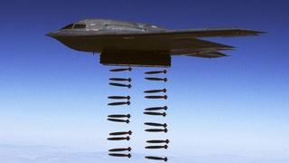 Редкое видео ВВС США. Б-1, Б-2, Б-52, Тяжелые Ковровые Бомбардировки