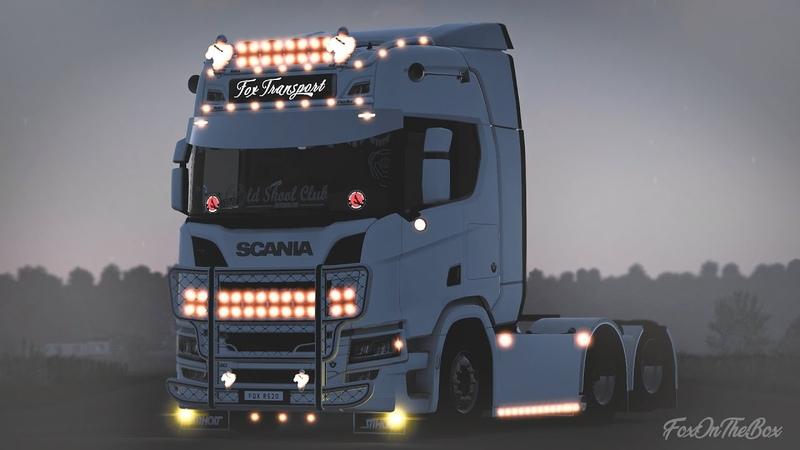 ETS2 1 41 R H Lightpack *Tuning Addons For All Trucks* Euro Truck Simulator 2 Mod
