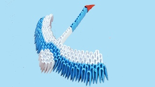 ЖУРАВЛИК модульное оригами