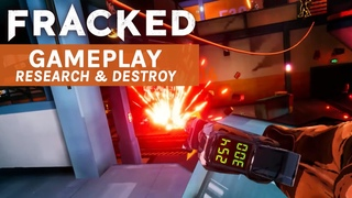 Fracked Research and Destroy Gameplay