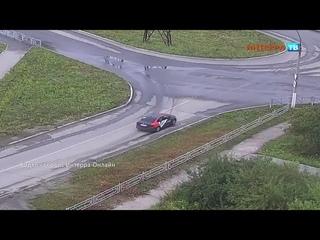 Дрифтер снёс забор на кольце на Комсомольской 28 07 21