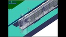 HANNA Automatic Power And Free PF conveyor Powder Coating Spraying Line spraying pretreatment