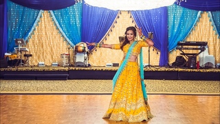 Nainowale Ne/Deewani Mastani Sangeet Dance by Bride & Sisters-Sharara,Chamma Chamma,Team Naach