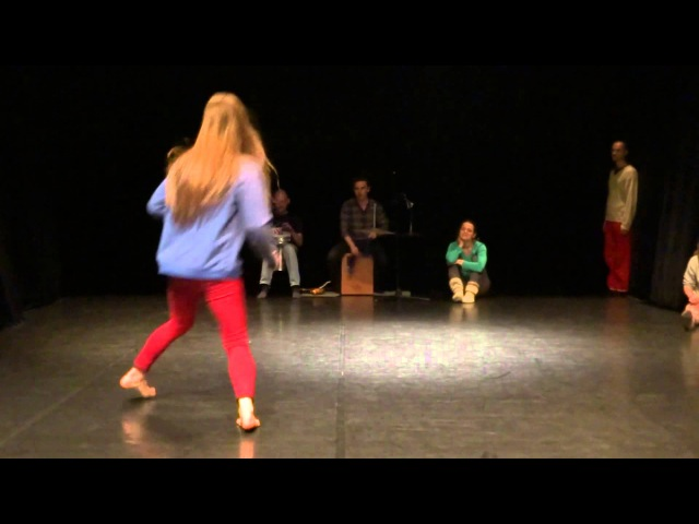 Anastasia Belousova group score dance improvisation PushOK fest in Kiev