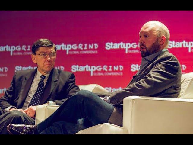 Clayton Christensen Innovator's Dilemma Marc Andreessen a16z Startup Grind Global