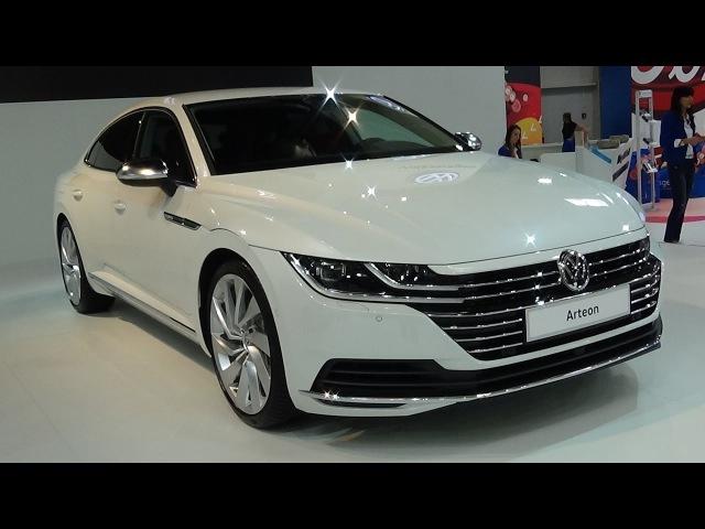 2018 Volkswagen Arteon Elegance 4Motion Exterior and Interior Auto Salon Bratislava 2017