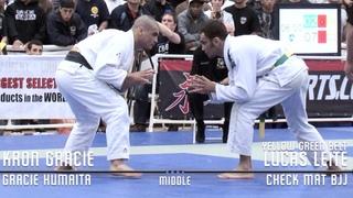 Lucas Leite VS Kron Gracie / Pan Championship 2009