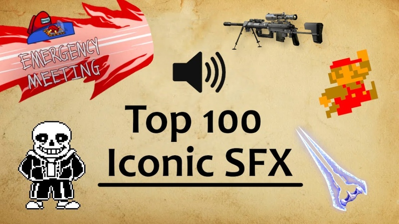 100 Most Iconic Video Game Sound Effects 1980 2019
