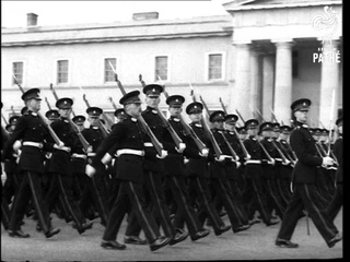 Sovereign's Parade At Military Academy - Sandhurst Reel 1. AKA Sovereign's Parade 1 (1955)