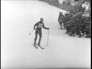Skiing In Snowstorm (1970)