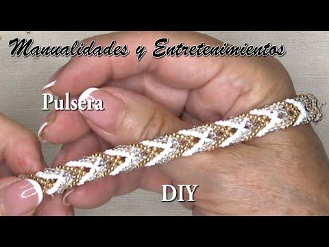 DIY Pulsera espiga delicas