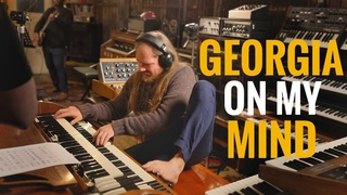 Georgia on my Mind (Ray Charles Cover) - Martin Miller & Kirk Fletcher - Live in Studio