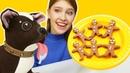 Имбирное печенье Плей До - Видео лепка. Видео для детей про пластилин Как мама Шоколадки
