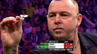 ALMOST A WORLD RECORD! Wright v Lewis   2017 Premier League