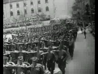 ПАРАД НСДАП 1938 г. В НЮРНБЕРГЕ.