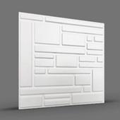 СПЛИТ 3D панель облицовочная Rakitta
