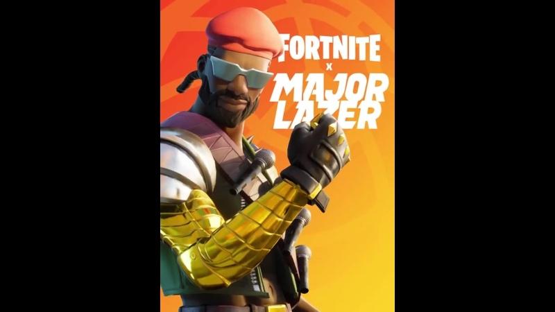 Major Lazer Анонс