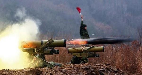Фото пуска ракеты ПТРК «Метис-М»