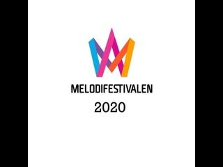 Melodifestivalen. Deltävling 2. 08.02.2020.(With Swedish Subtitles.)