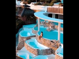 Отель на северном побережье Ибицы...