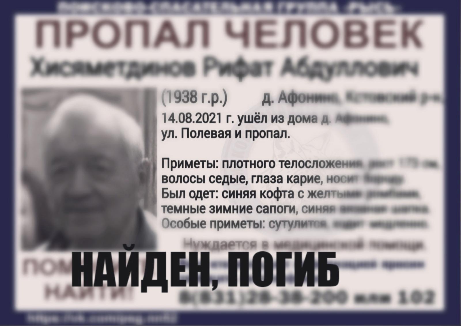 Хисяметдинов Рифат Абдулович