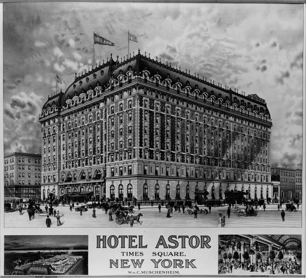 отель астор нью-йорк начало 20 века