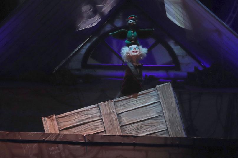 Спектакль «Фантастическое путешествие Чижика» Санкт-Петербургского театра марионеток им. Е.С. Деммени