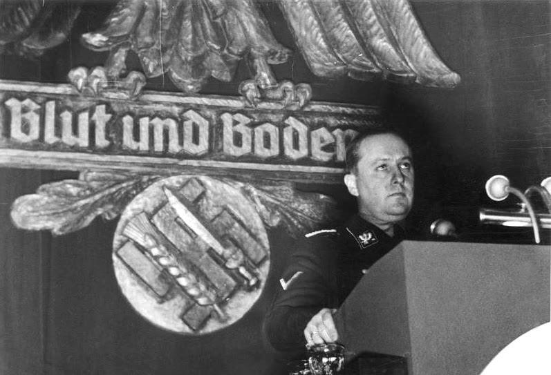 Речь Рихарда Вальтера Даррэ (Richard Walther Darré), фюрера крестьян Рейха, 13 декабря 1937. национал-социализм