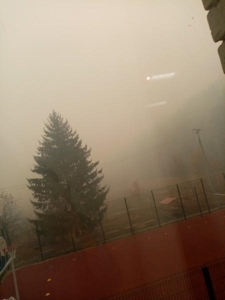 С. Сосновское всё в дыму, дышать невозможно....