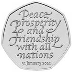 Брексит 50 пенсов 2020 Великобритания
